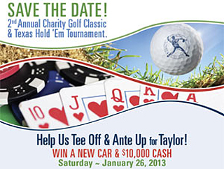 Taylor Emmons Charity Golf Classic and Poker Night